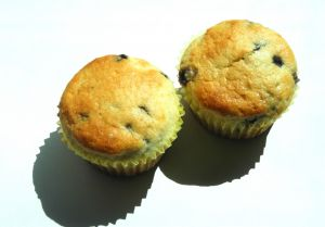 Csokis-aszalt sárgabarackos muffin